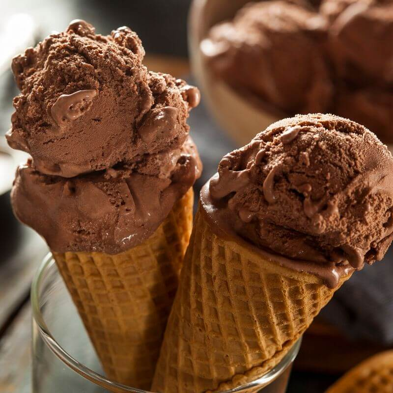 Chocolate Desserts Recipes | Homemade chocolate ice-cream