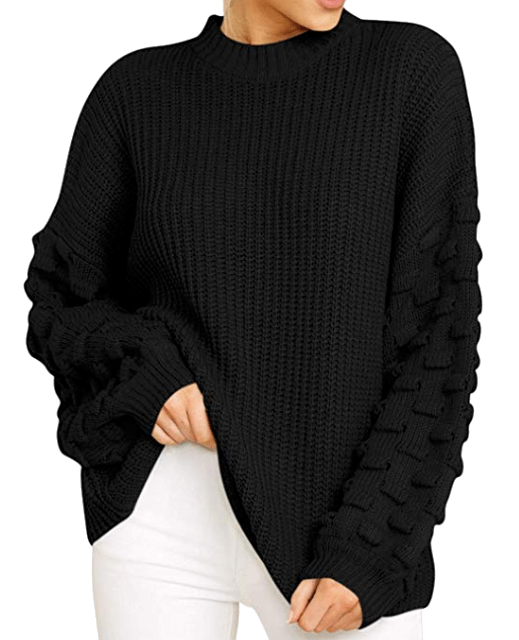 Cute Oversize Fall Sweaters 4 of 10