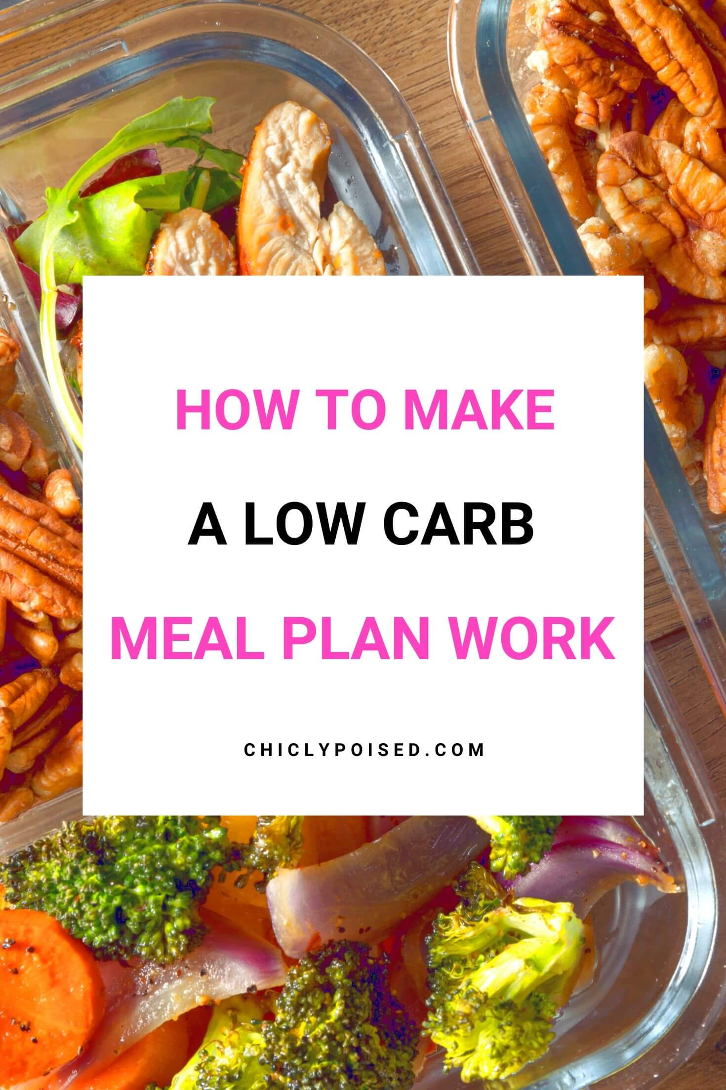How To Make A Low Carb Meal Plan Work For You 2 of 2