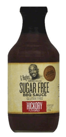 Keto-Friendly Sauce | G Hughes Smokehouse Sugar-Free BBQ Sauce Hickory
