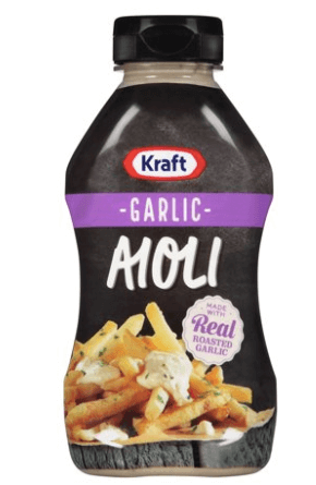Keto-Friendly Sauce | Kraft Aioli Garlic