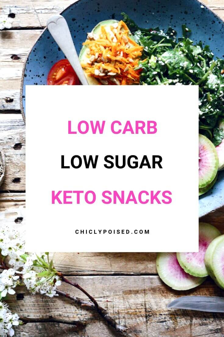 Low Carb Low Sugar Keto Snacks 1 of 2