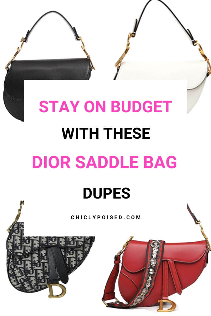 Stay On Budget With These Affordable Christian Dior Saddle Bag Dupes3 of 5