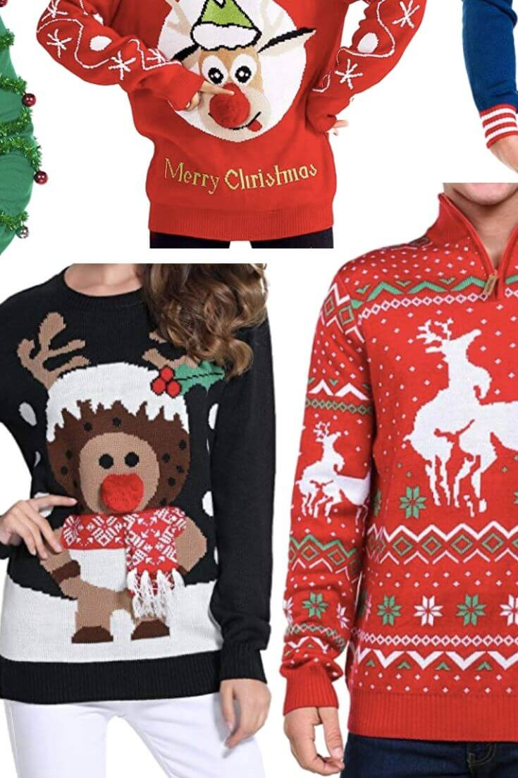 Ugly Christmas Sweaters We Stan 2 of 4