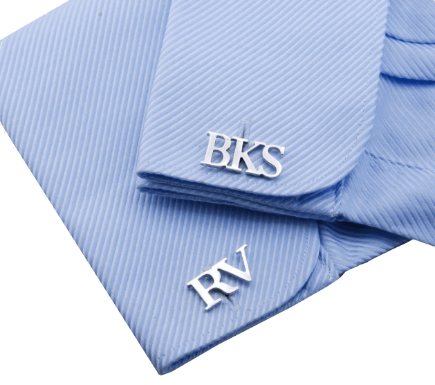 Best Valentine's Day Gift Ideas for Men - Personalized His Name Cufflinks