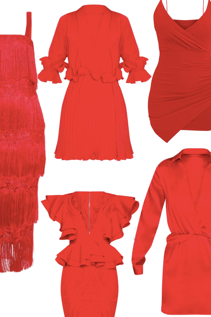 Hot Red Dresses For Valentine's Day