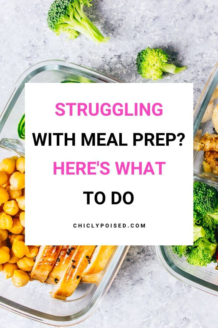 How To Get Over Your Meal Prepping Struggle 2 of 3