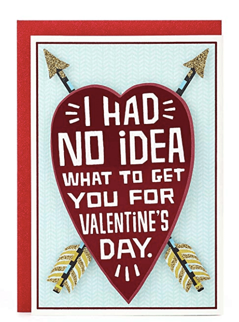Valentine's Day Gift For Her Ideas Card