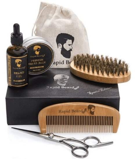 Valentine's Day Gift Ideas for Men -Rapid Beard Grooming and Trimming Kit