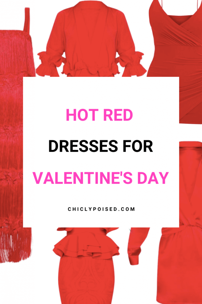 Valentine's Day Red Dresses