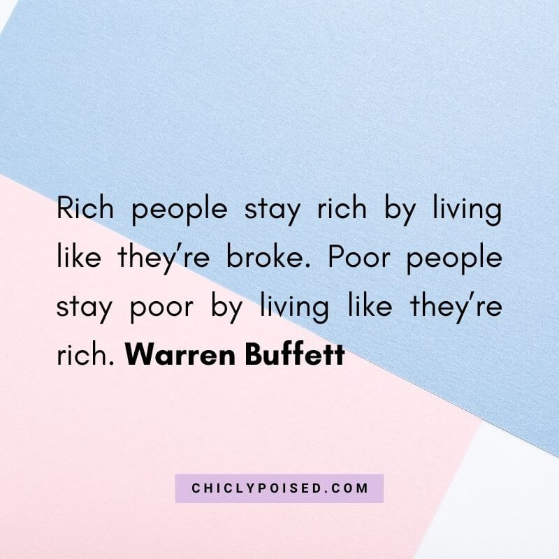 Wasting Money Quotes - Rich people stay rich by living like they're broke. Poor people stay poor by living like they're rich. Warren Buffett