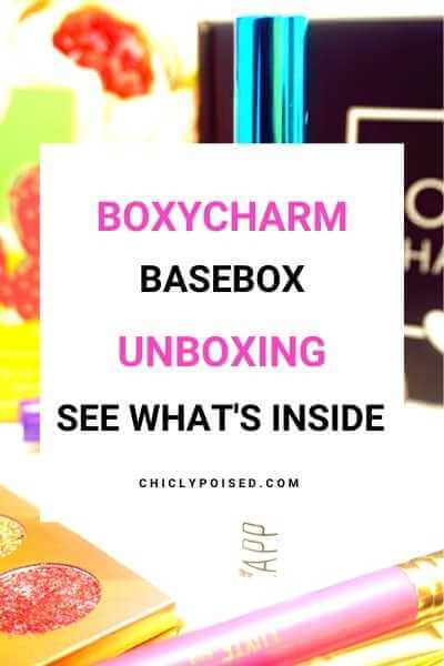BoxyCharm April Unboxing 2019 1 of 3