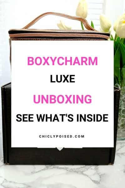 BoxyLuxe March 2019 Unboxing 2 of 2