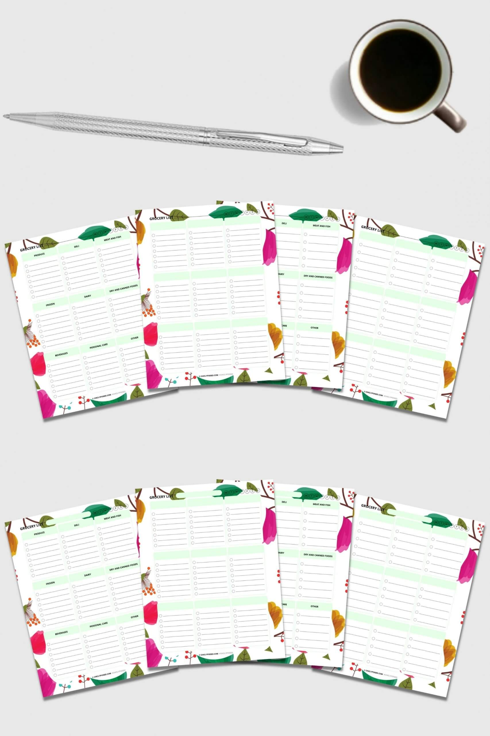 Grocery Lists Printable 2 of 3