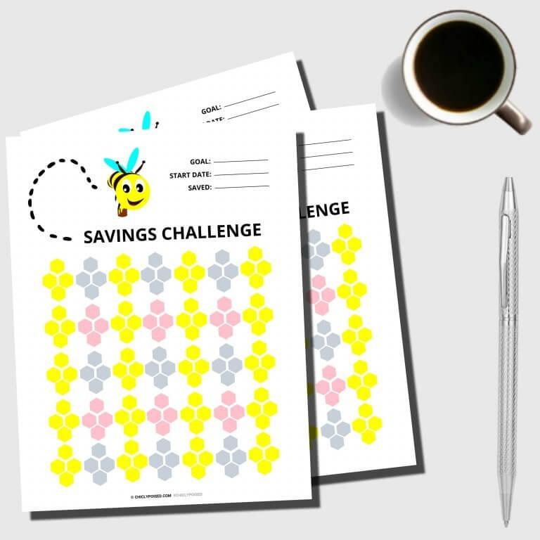 Savings Challenge Printable 2 of 5