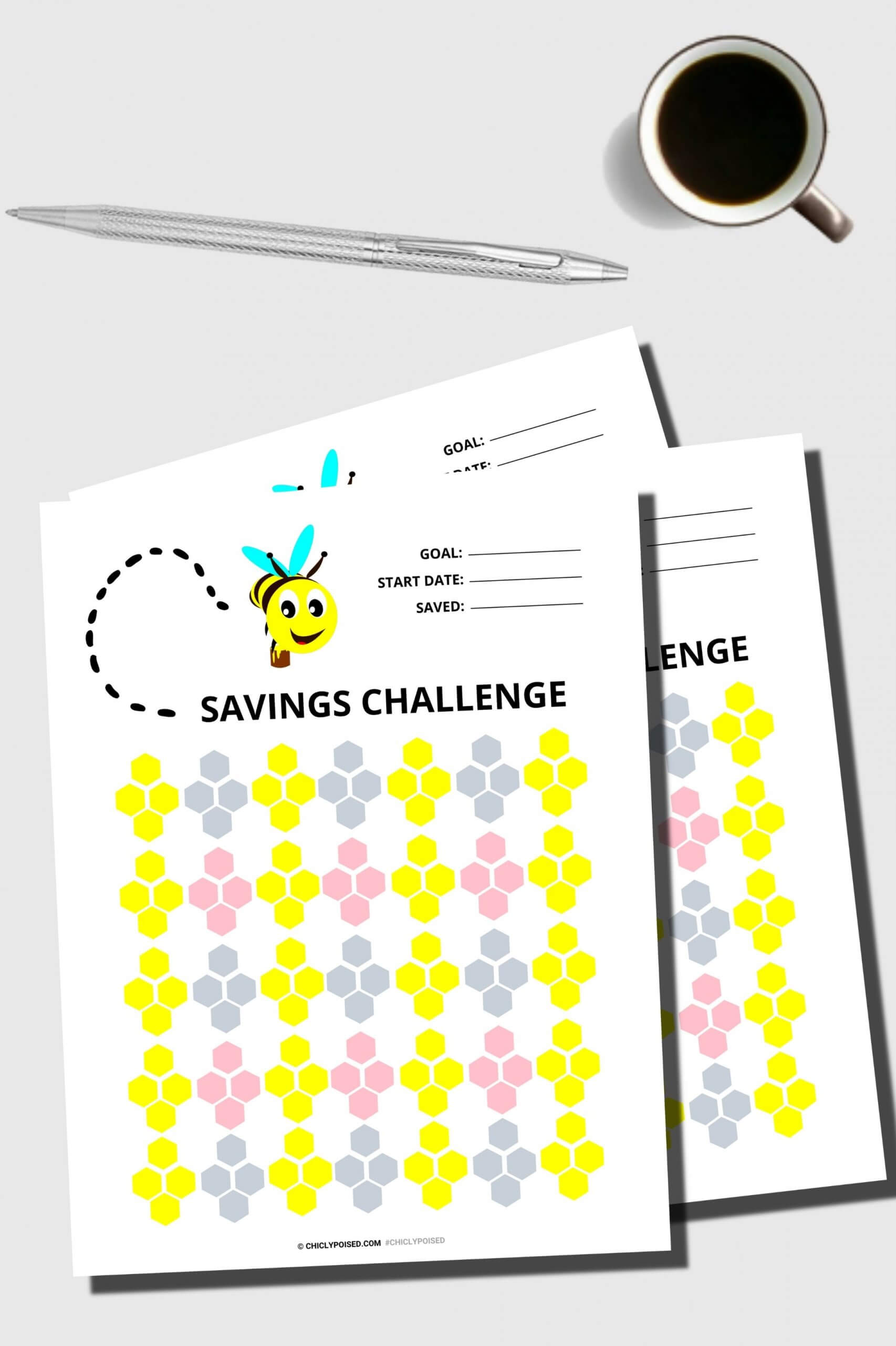 Savings Challenge Printables 1 of 5